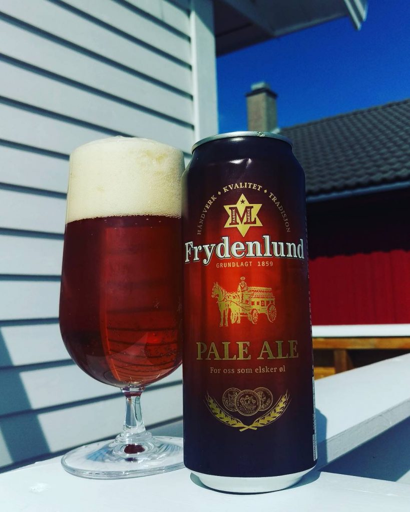 Pale ale by Frydenlund