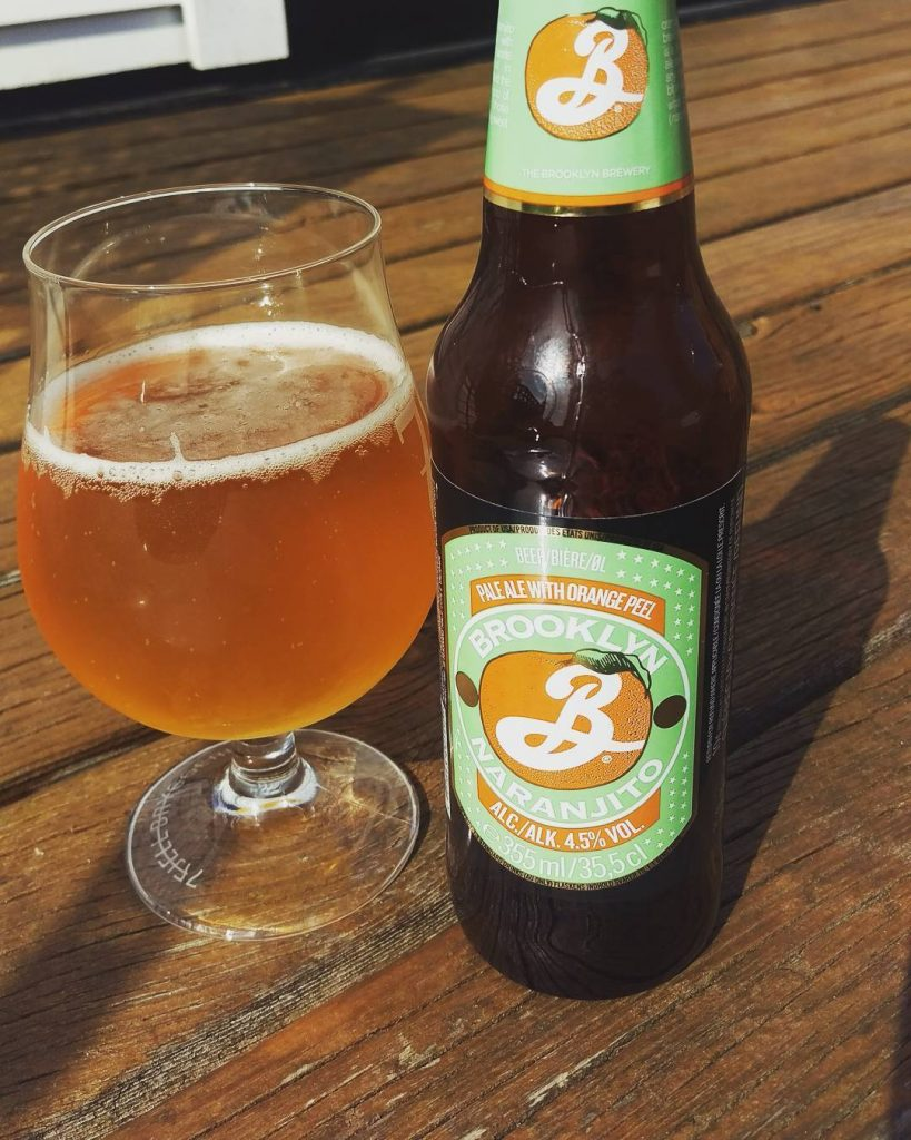 Naranjito by Brooklyn Brewery