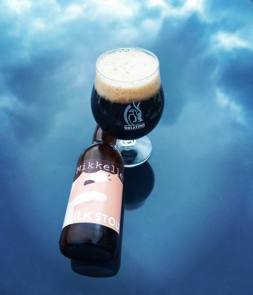 Milk stout by Mikkeller Photo: Karl Inge S